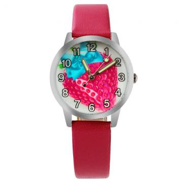 Aardbei horloge glow in the dark
