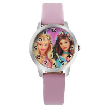 Barbie horloge glow in the dark