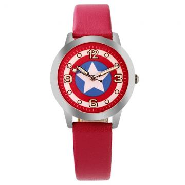 Captain America horloge glow in the dark - badge