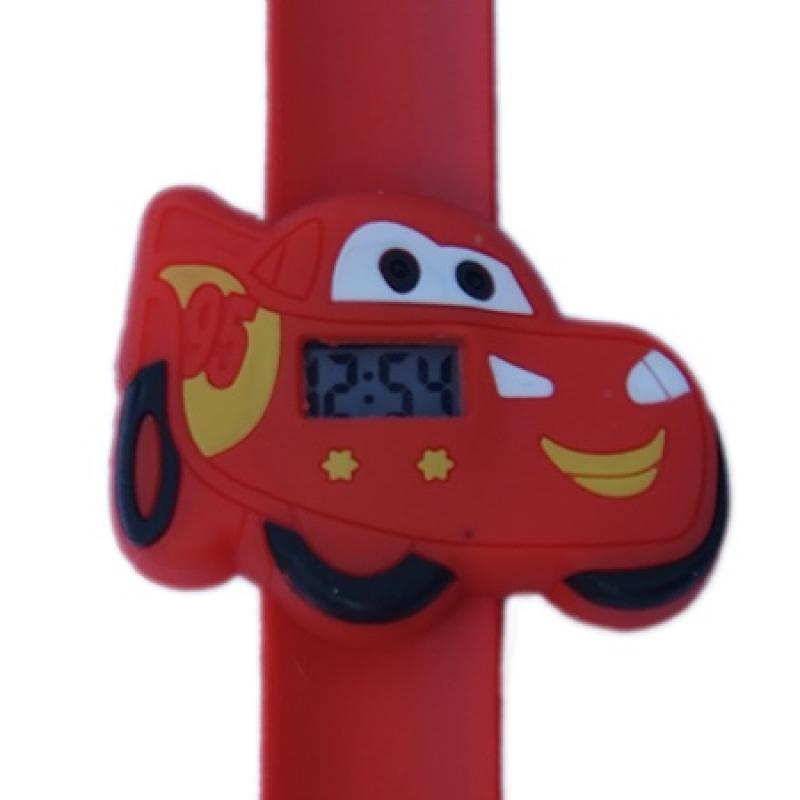 Cars horloge slap on digitaal