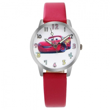 Cars horloge glow in the dark