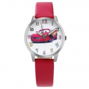 Cars horloge -  glow in the dark