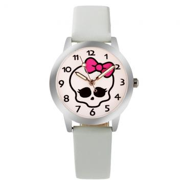 Doodshoofd horloge glow in the dark