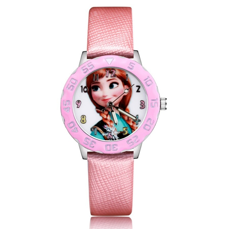 Frozen horloge glow in the dark - Anna - deluxe