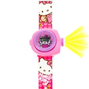 Hello Kitty horloge projectie