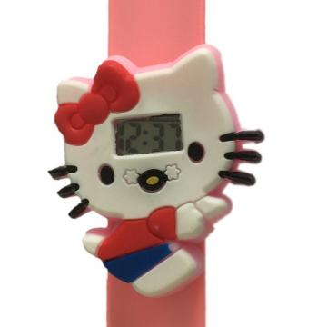 Hello Kitty horloge slap on digitaal 2