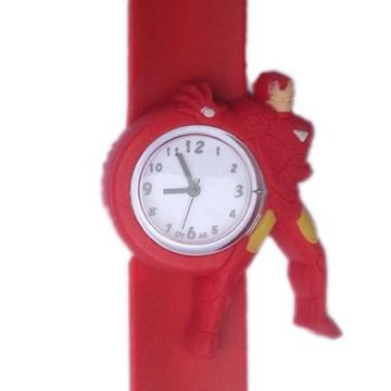 Iron Man horloge slap on