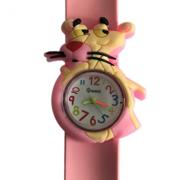 Pink Panther horloge slap on