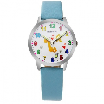 Schilpad horloge glow in the dark