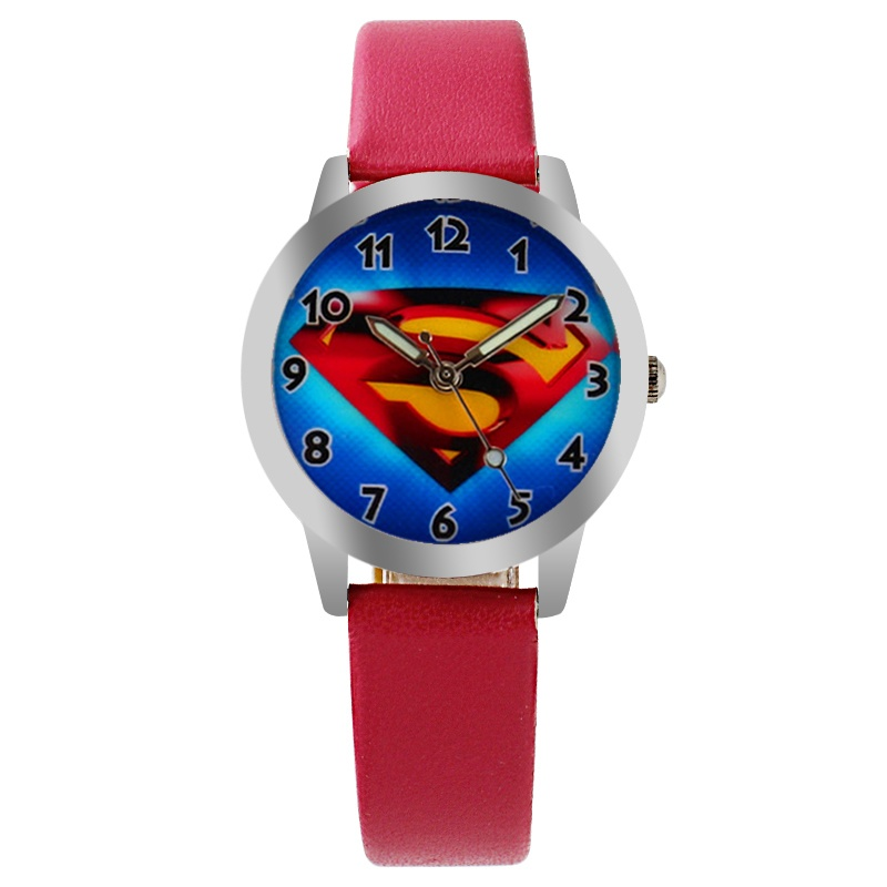 Superman horloge glow in the dark