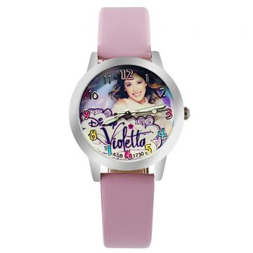 Violetta horloge glow in the dark