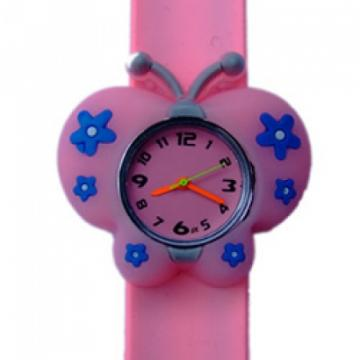 Vlinder horloge slap on